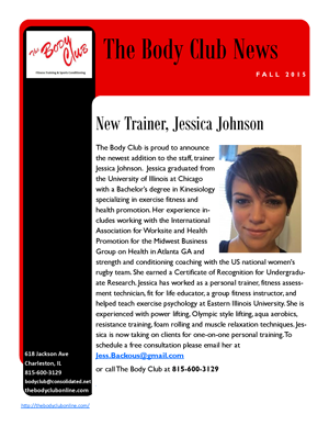 BC Newsletter - Fall 2015