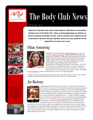 BC Newsletter - Winter 2014